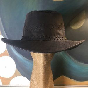 NWT Wax Cotton Outback Wide Brim Hat XXXL